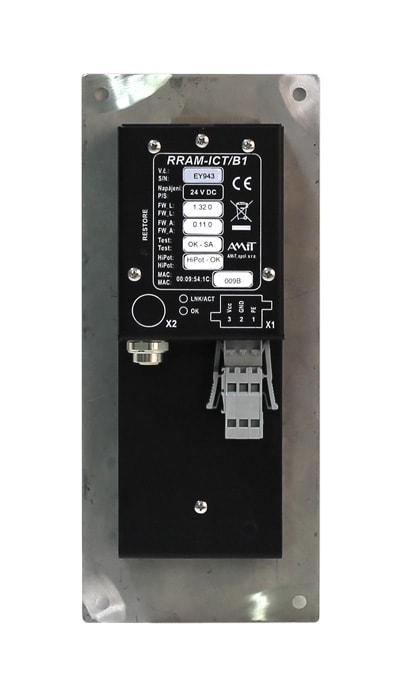 RRAM-ICT/B1 - zadní pohled
