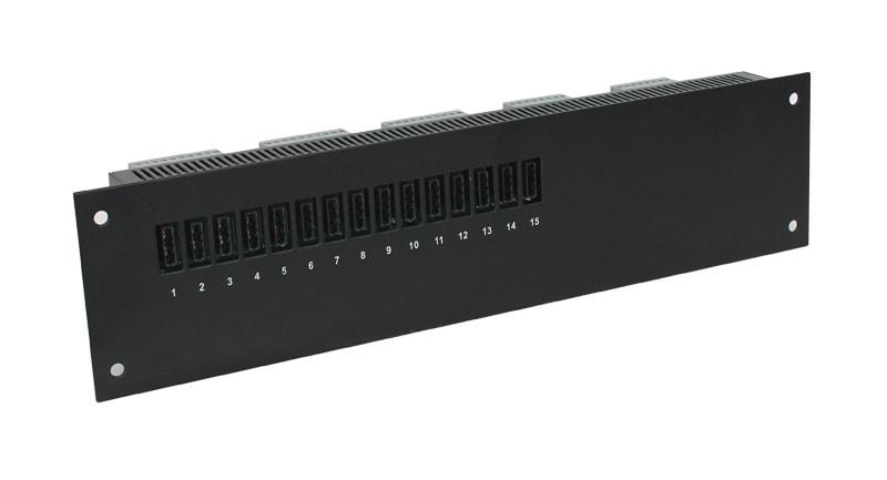 RRFS-xx module - čelní pohled